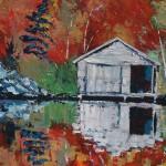 Faded Boathouse