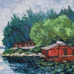 Old Red Boathouse (Lake Joseph)