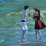 Flirtation at the Beach