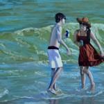 Flirtation at the Beach