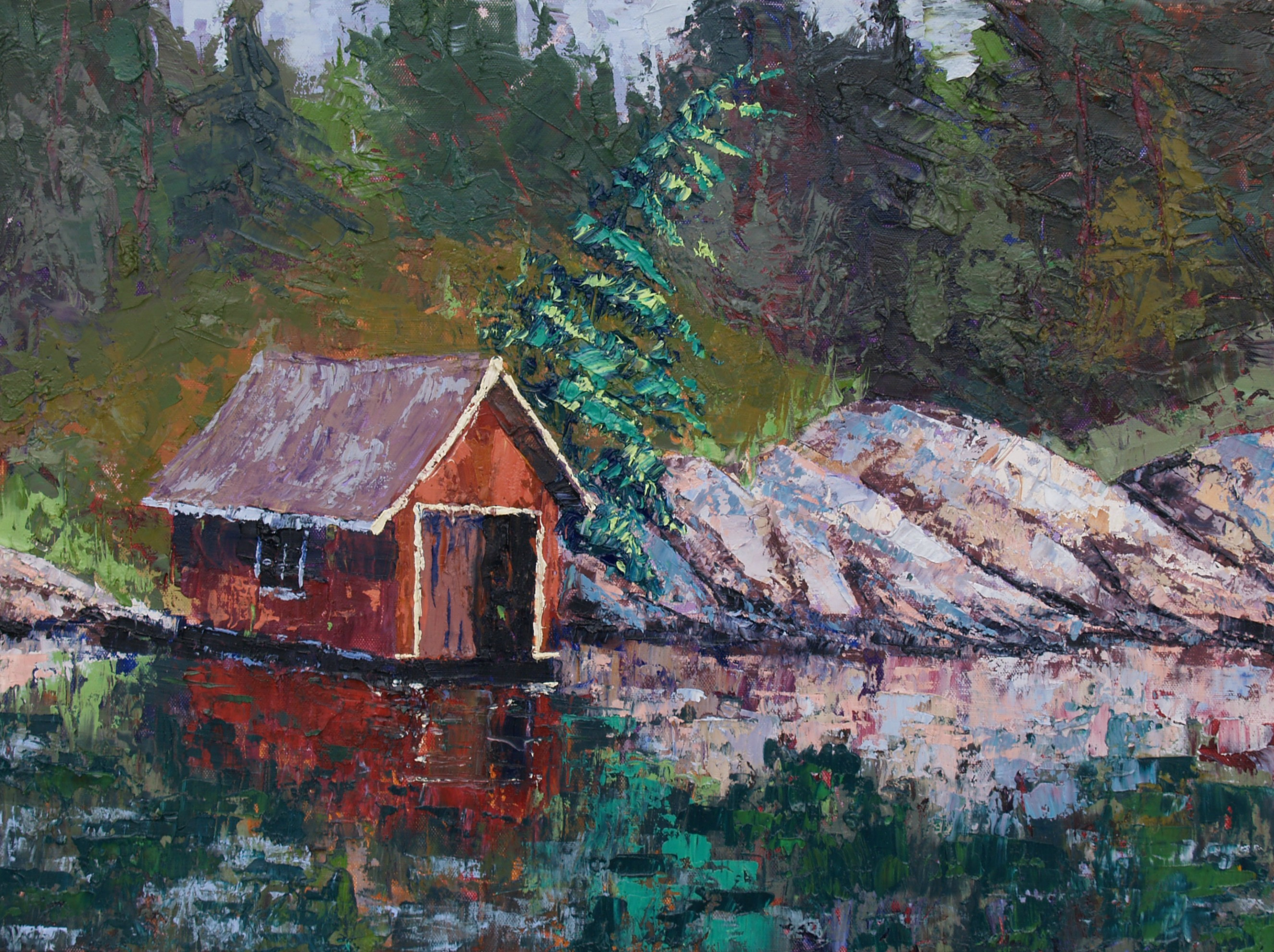 Old Red Boathouse